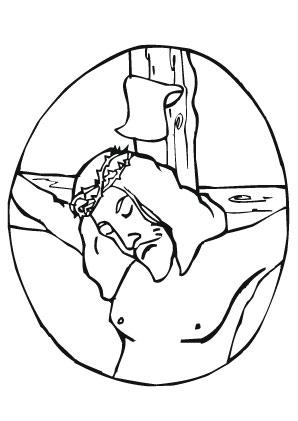 Ungewöhnlich Jesus Auf Dem Kreuz Malvorlagen Bilder ...